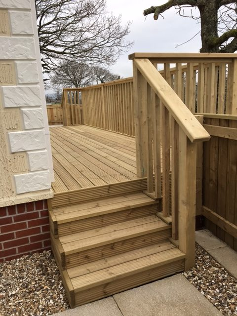 Decking Steps Morwellen Furniture